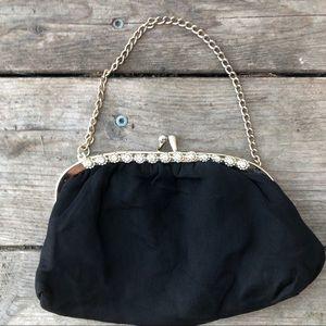 Beautiful black vintage small bag